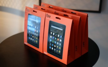 Amazon Fire tablet arrives in China