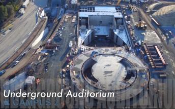 December video update on Apple Campus 2 progress reveals underground auditorium