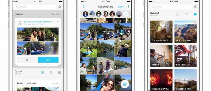 Facebook will make you use its Moments app to sync your