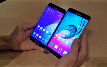 Samsung Galaxy A9 appears in unofficial video, compared to the A7