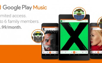 Google Play Music's family plan is finally launching in the next few days
