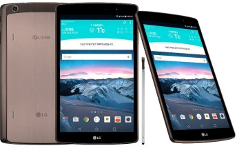 LG G Pad II 8.3-inch variant with SD615 SoC announced