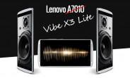 Lenovo A7010 is actually the Vibe X3 Lite