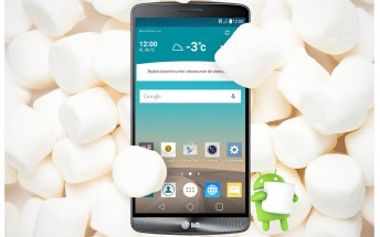 The LG G3 Marshmallow update officially available