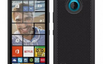 Lumia 850 cases leak out confirming the phone's design