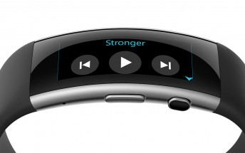 The new Microsoft Band gets an update that enables music controls