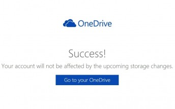 Microsoft reconsiders, lets you keep your 15GB of OneDrive storage
