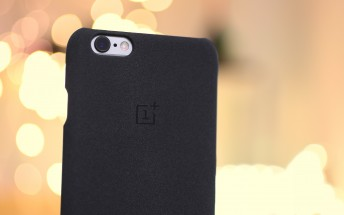 Hands-on with the OnePlus Sandstone case for the iPhone 6/6s