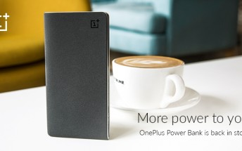 OnePlus Power Banks available once again in India