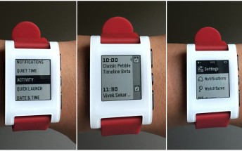 Pebble's Timeline interface is coming to the Classic and Steel watches, beta sign-ups now open