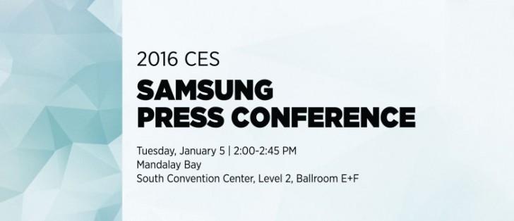Samsung details CES press conference, Galaxy S7 a no-show