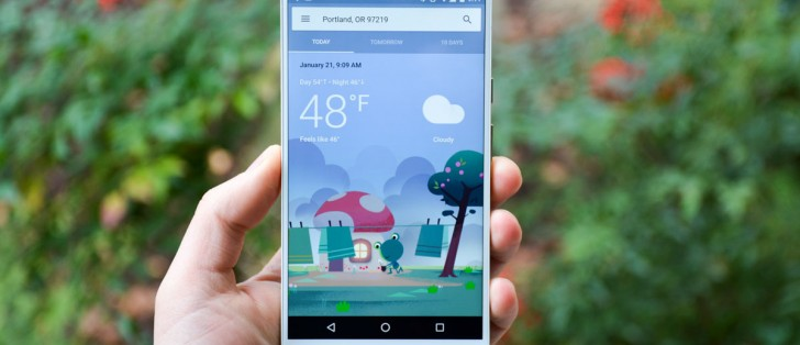 New design for Google Weather on Android launches today