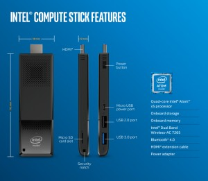 Intel Compute Stick: Atom x3