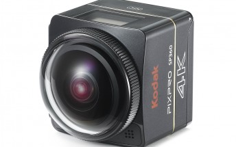Pair two of Kodak's new SP360 4K action cams, get VR videos