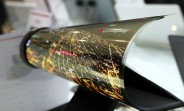 "LG Display unveils 8K TV, 139"" S-Shaped OLED, 18"" rollable OLED for CES"