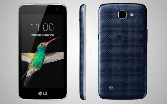 Entry-level LG K4 spotted listed on company's Russian website