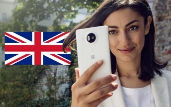 Microsoft Lumia 950 now £410 at Amazon UK, 950 XL is £450