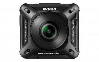 Nikon announces D5 and D500 DSLRs, KeyMission 360 action-cam