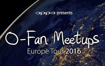 Oppo takes the F1 on an European O-Fan tour, free tickets available now