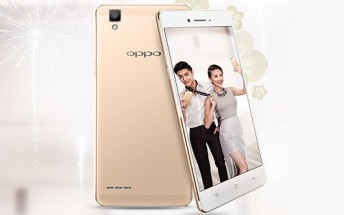Oppo F1 goes official, Vietnam gets it on January 13