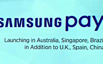 Samsung Pay coming to Australia, Singapore, and Brazil this year