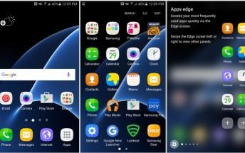 Lucky customer gets Galaxy S7 edge early, screenshots galore