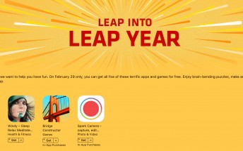 Leap Year sale makes five top-rated iOS apps free, today only
