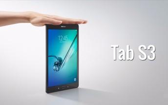 Samsung Galaxy Tab S3, both 9.7
