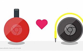 Google offering $10 Play Store credit to Chromecast/Chromecast Audio buyers