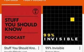 Podcasts section starts showing up in Google Play Music for some