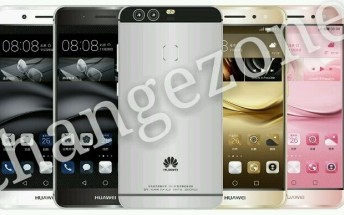 Leaked Huawei P9 renders confirm a metal body and dual camera design