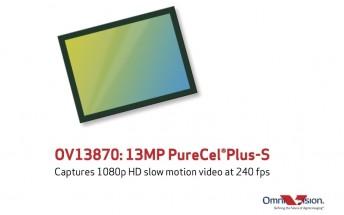 OmniVision has a new 13MP PureCel Plus-S sensor