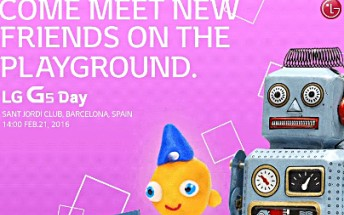 LG confirms February 21 unveiling for the G5