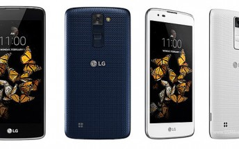 """LG outs the LG K8 in Europe; 5"""" display, a quad-core processor, and Android 6.0 in tow"""