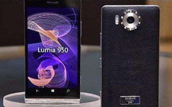 Jeweler Damiani crafts Gold and Diamonds covers for Lumia 950