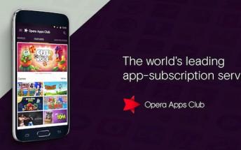 Opera Apps Club is is an