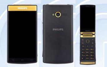 Android-powered flip phone Philips V800 passes through TENAA