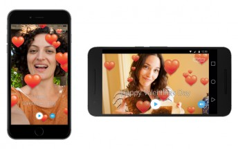 Skype for Android and iOS is getting ready for Valentine's Day with special video cards