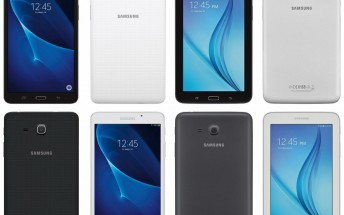 Upcoming 7-inch Galaxy Tab A and Galaxy Tab E portrayed in leaked press renders
