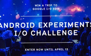 Android Experiments Challenge: Win a trip to attend Google I/O
