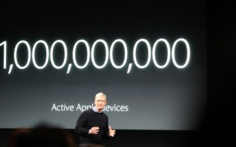One billion Apple devices are currently in use worldwide