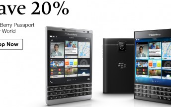BlackBerry Passport gets price cut in the US