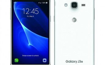 AT&T Galaxy J3 (2016) launch confirmed for May 6, pricing revealed