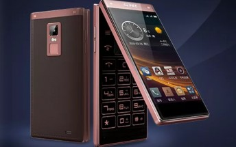 Premium Android flip phone Gionee W909 unveiled