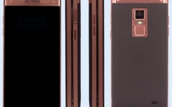 Gionee W909 clamshell to officially debut on March 29, fingerprint sensor in tow