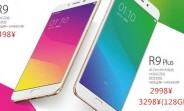Oppo R9 and R9 Plus pricing information leaks