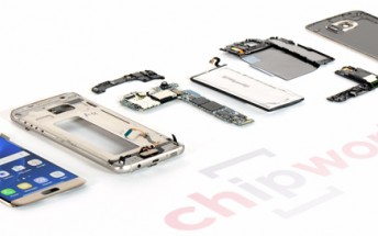 Samsung Galaxy S7 edge teardown exposes all of its internals