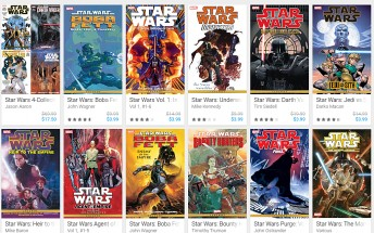 Google Play offering up to 80% off on Star Wars-themed comics