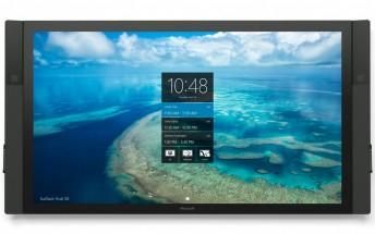 Microsoft's giant Surface Hub finally begins shipping