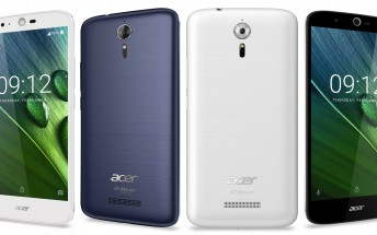 Acer Liquid Zest Plus is official with a 5.5-inch display and a 5,000mAh battery